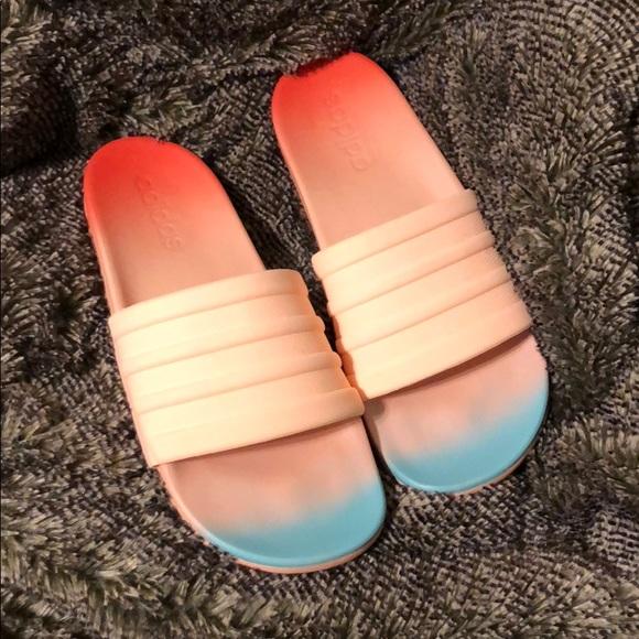 8d07625e834 adidas Shoes - Adidas Coral Foam Ombré Slides